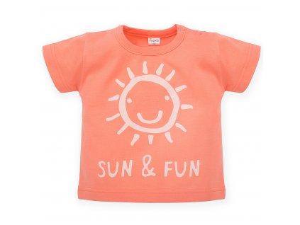 tričko Sun Fun oranžová