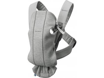 BABYBJÖRN Nosítko Mini Light Grey 3D Jersey