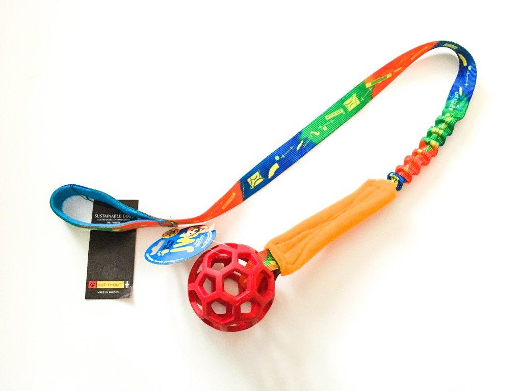 Out-n-out přetahovadlo dlouhé agility S roller