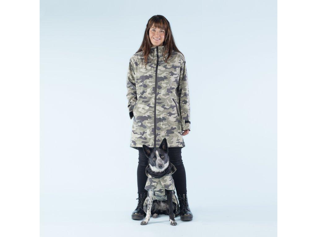 1095004 PAIKKA Human Visibility Raincoat Camo W 1