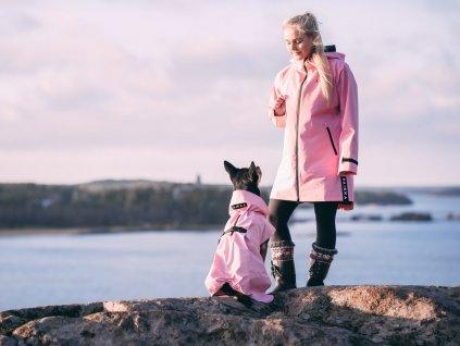 1092004 PAIKKA Human Visibility Raincoat Lite W Pink 3