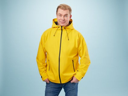 1094004 PAIKKA Human Visibility Raincoat yellow U 1