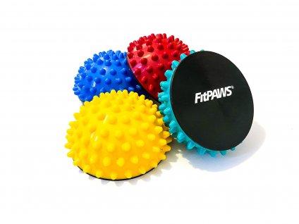 FitPAWS protiskluzové halfballs, 4 ks  + dárek zdarma