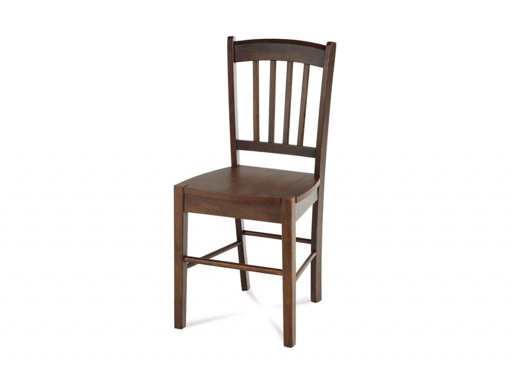 Jídelní židle celodřevěná, ořech AUC-005 WAL