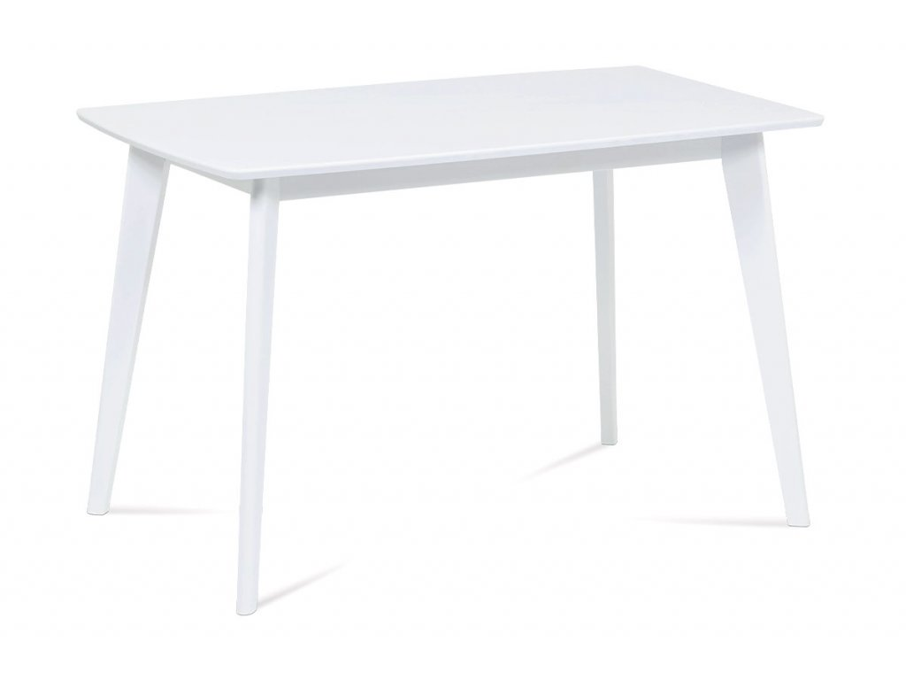 Jídelní stůl 120x75 cm AUT-008 WT