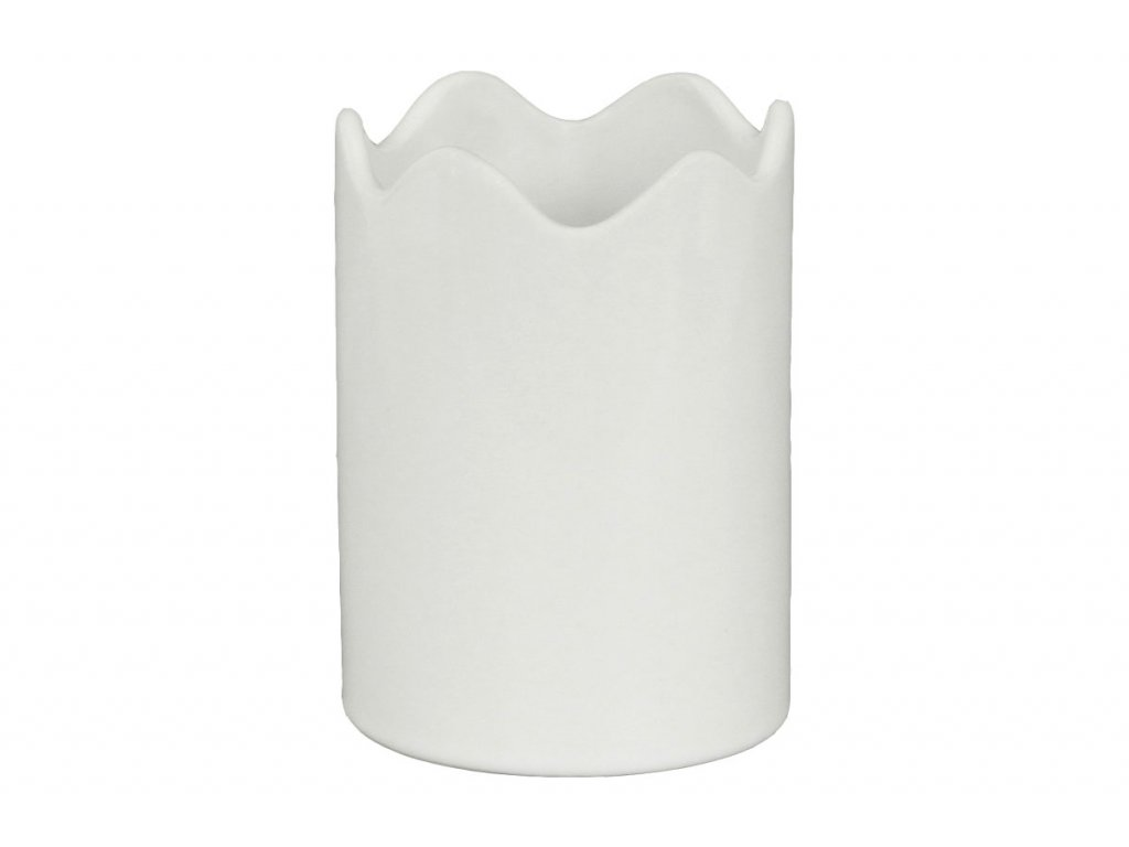 Váza keramická  bílá HL817572
