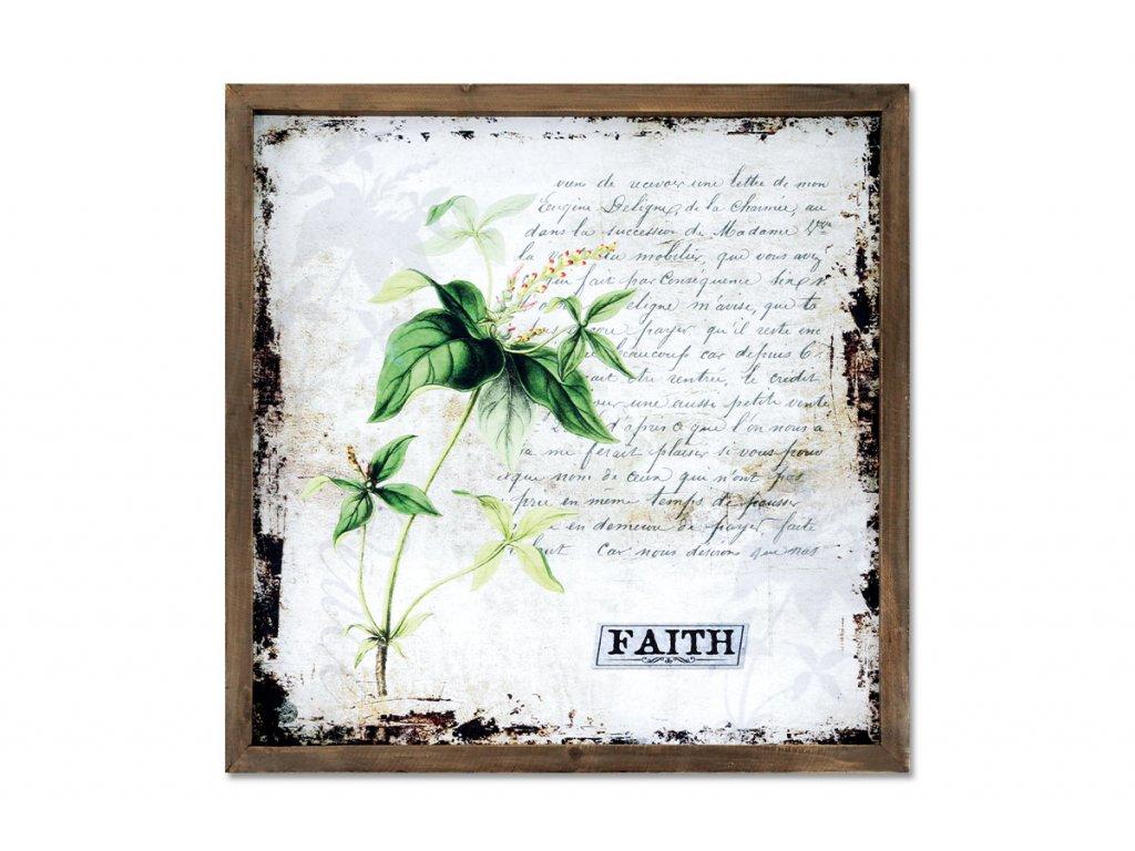 Obraz plátěný v dřevěném rámečku OBX1008