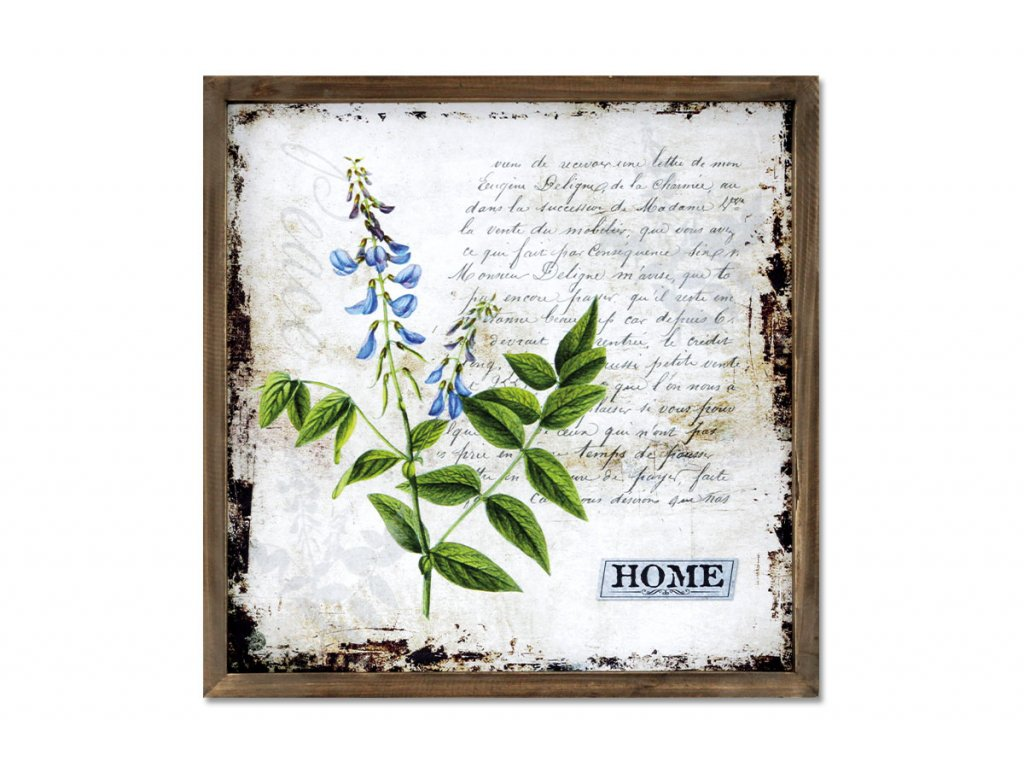 Obraz plátěný v dřevěném rámečku OBX1009