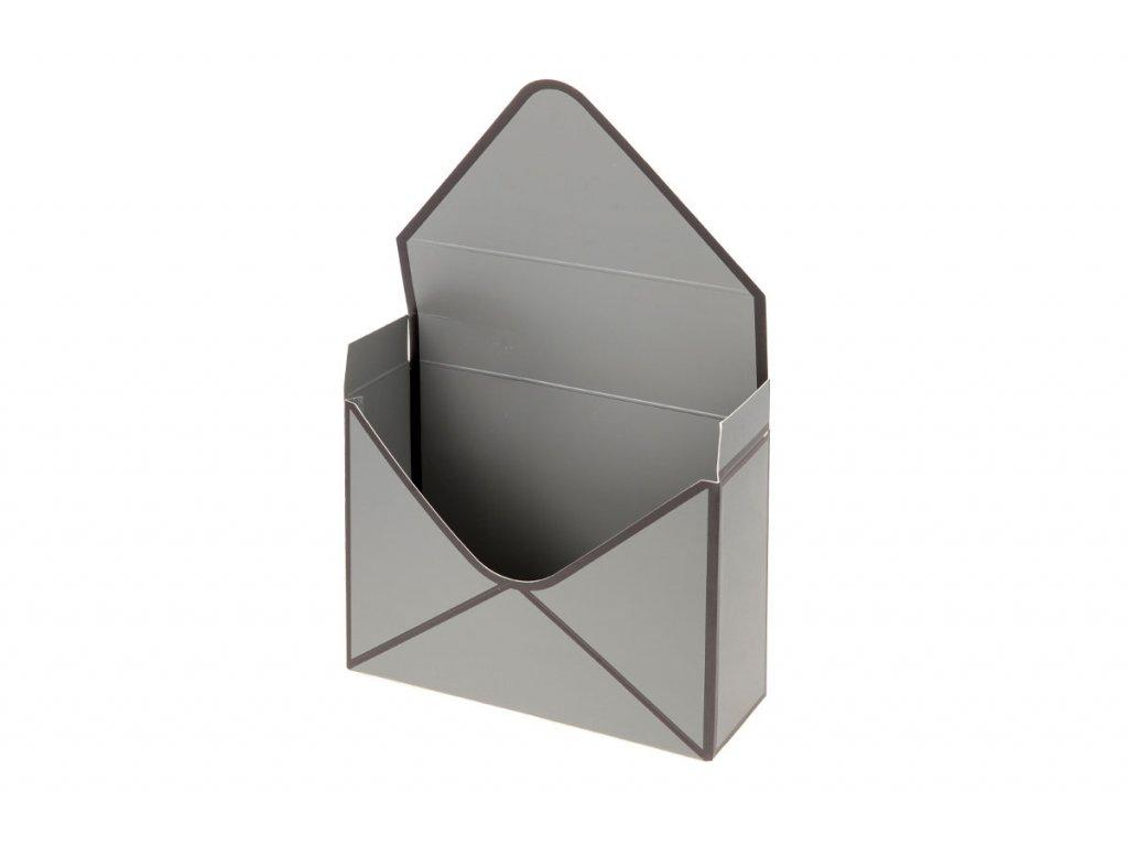 Flower box papírový, barva šedá SF1217