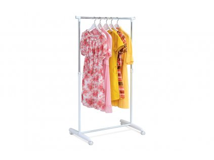 Stojan na šaty chrom / bílá ABD-1201 WT