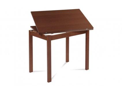 Jídelní stůl rozkládací 60+60x90 cm, třešeň BT-4723 TR3