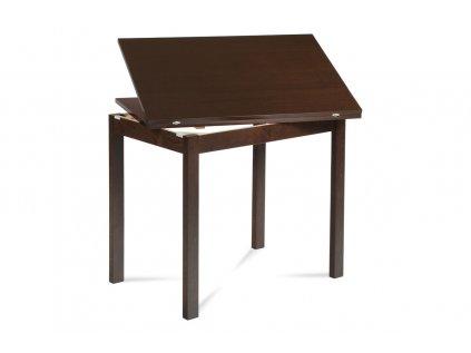 Jídelní stůl rozkládací 60+60x90 cm, ořech BT-4723 WAL
