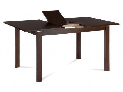 Jídelní stůl rozkládací 120+30x80 cm, barva ořech BT-6777 WAL