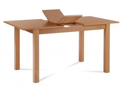 Jídelní stůl rozkládací 120+30x80x75 cm, barva buk BT-6930 BUK3