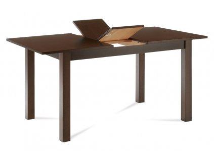 Jídelní stůl rozkládací 120+30x80x75 cm, barva ořech BT-6930 WAL