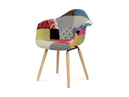 Jídelní židle patchwork / masiv buk CT-723 PW2