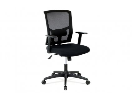 Kancelářská židle, látka černá, houpací mechnismus KA-B1012 BK