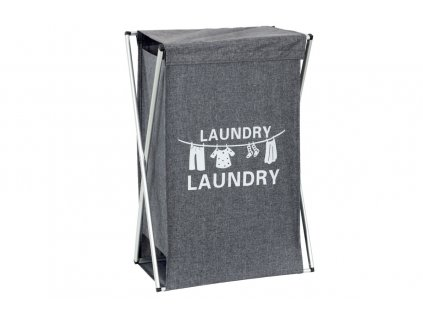 Koš na prádlo látkový, barva šedá DD3106