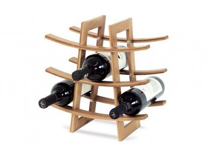 Stojan na víno, bambusový DR-040