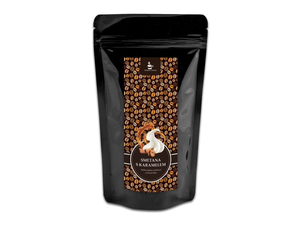 sweetscoffee smetana s karamelem