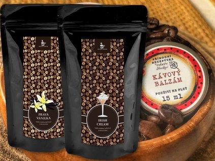 produktová fotka kávový balíček