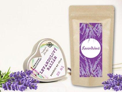 produktová fotka levandulový balíček srdíčko 1