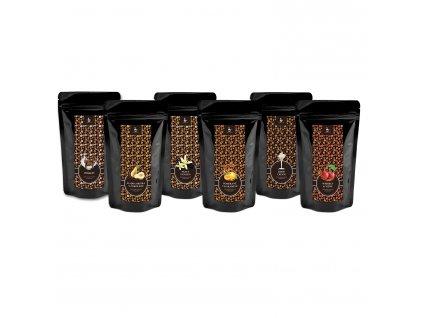 kava 6 druhu 2