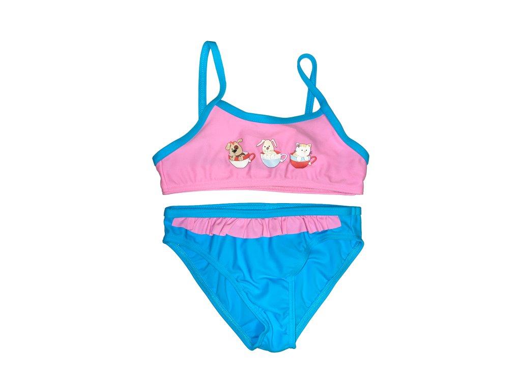 Axis 2205 plavky dívčí dvoudílné