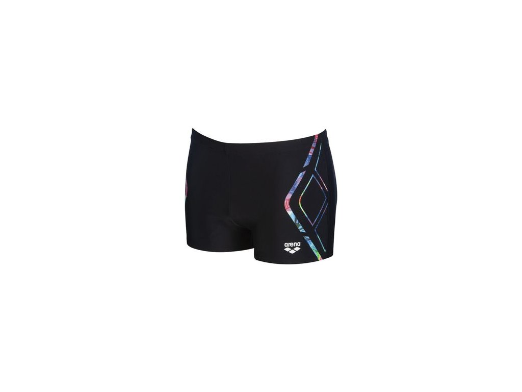arena m reflected simmetry short 6 panske plavky s nohavickou