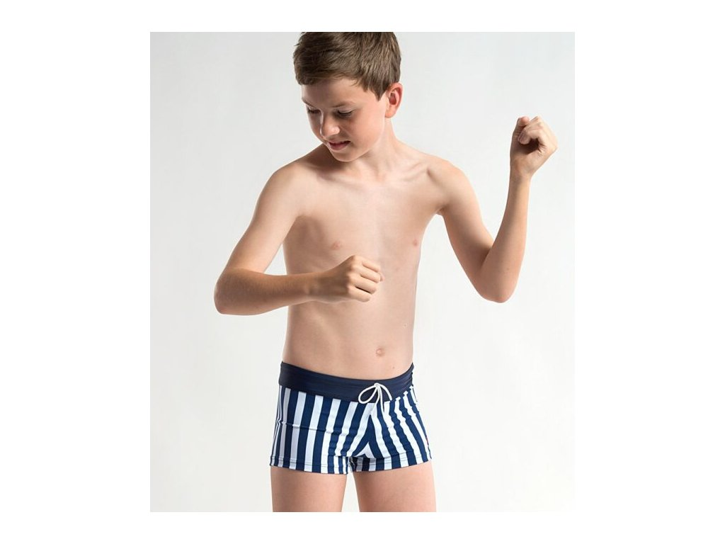 Chlapecké plavky ve stylu retro 860 600x678