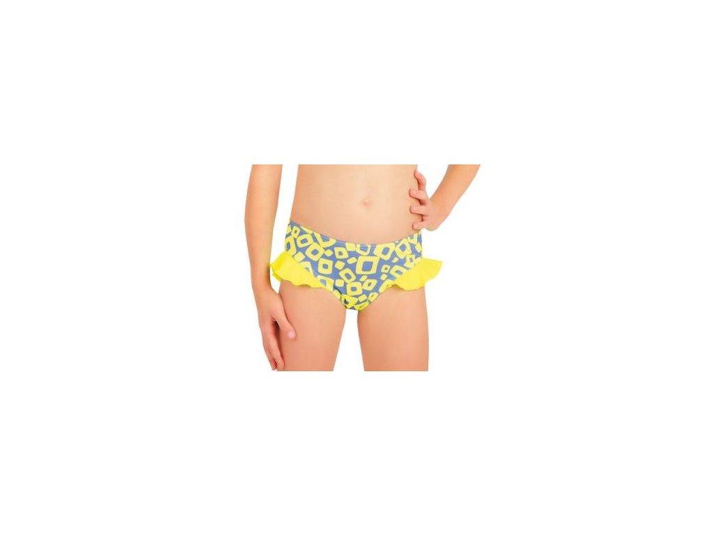 Litex 57544 Dívčí plavky dvoudílné kalhotky