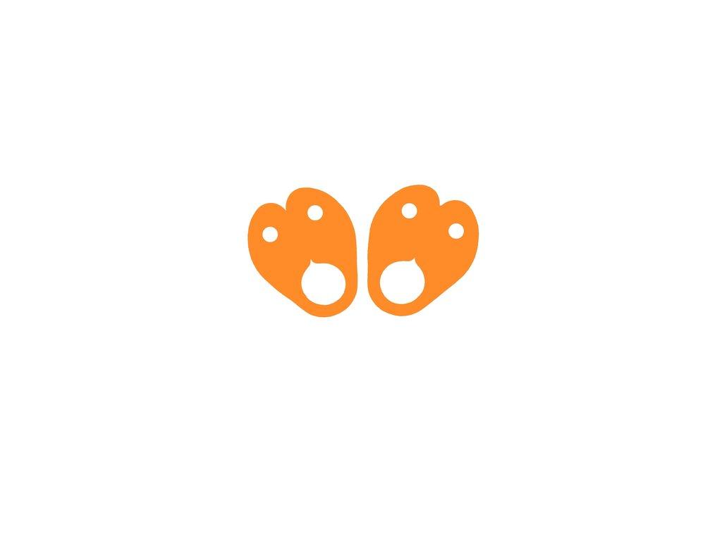 Dena nadlehčovací křidélka oranžová