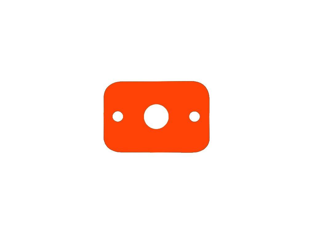 Dena plavecká deska oranžová