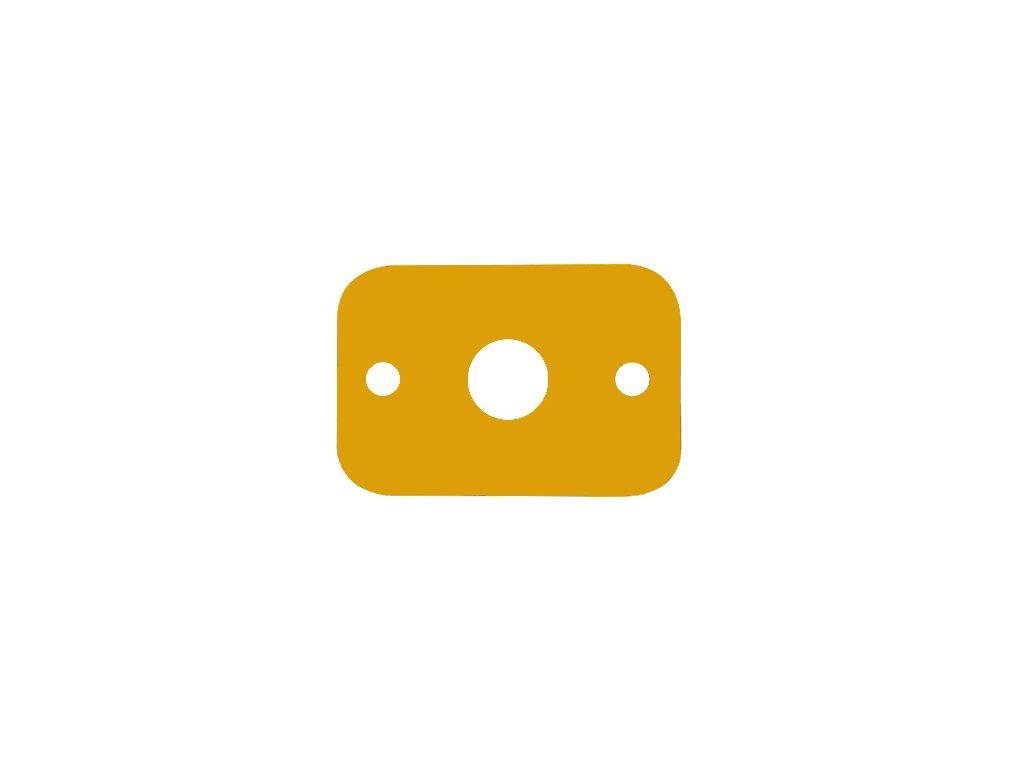 Dena plavecká deska žlutá