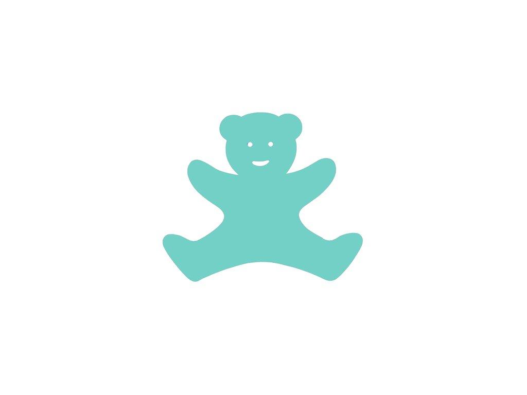 Dena plavecká deska medvídek zelená