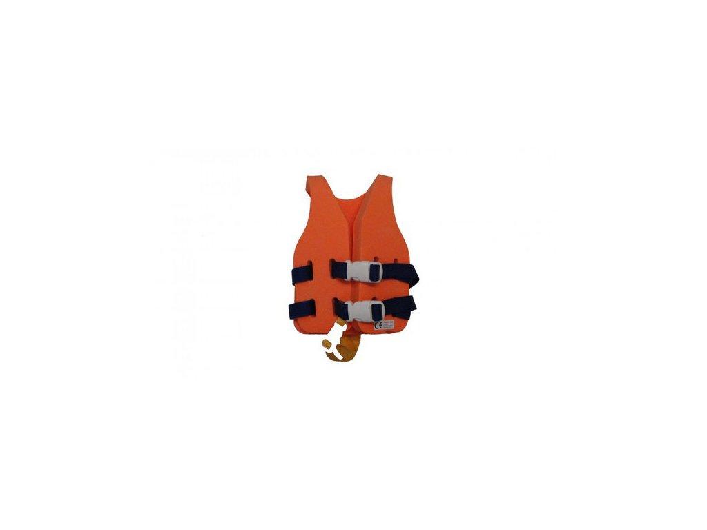 Dena vesta batole oranžová