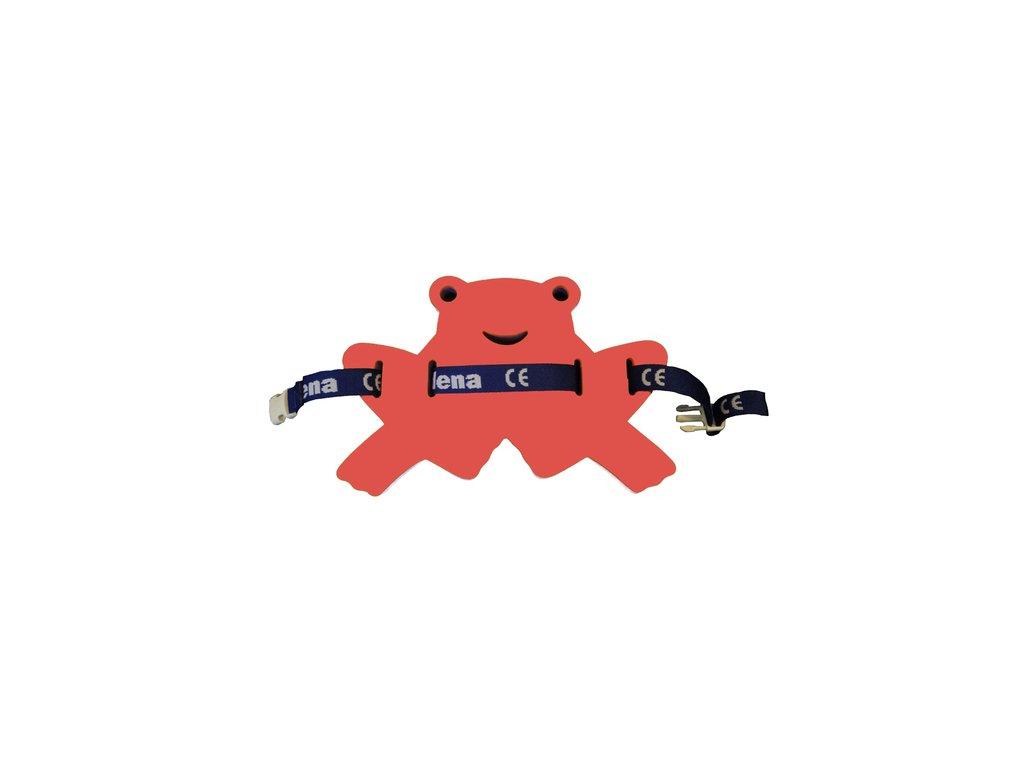 Dena Plavecký pás žabka červená