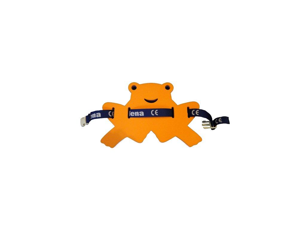 Dena Plavecký pás žabka oranžová