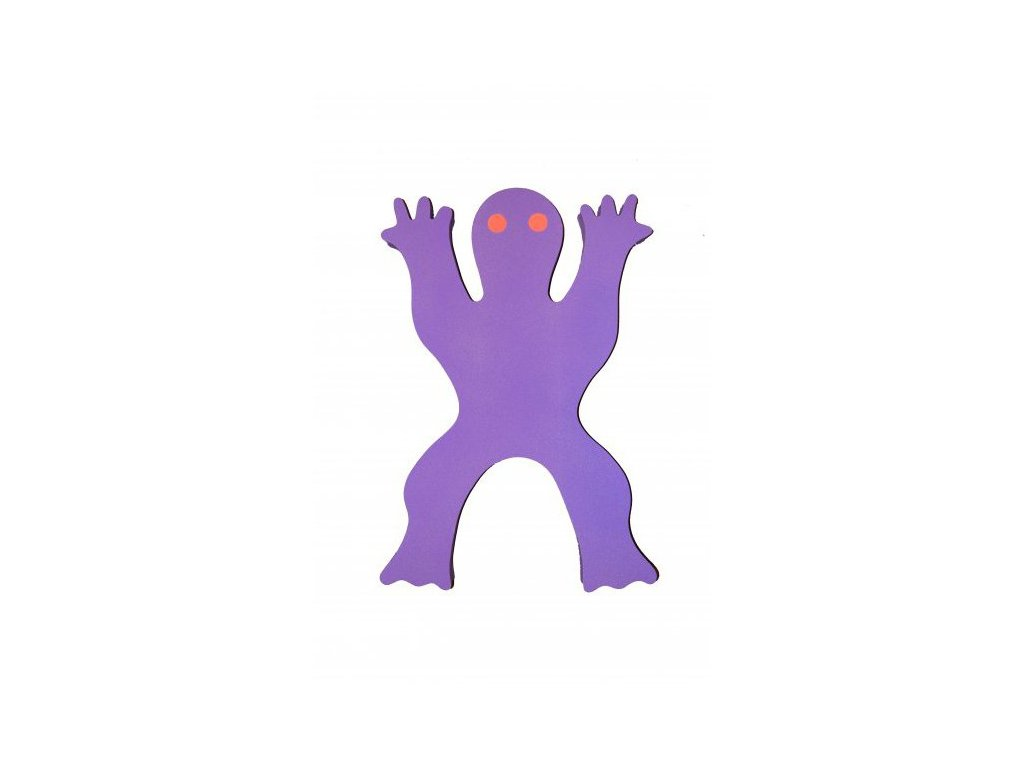 Dena plovák žába fialová