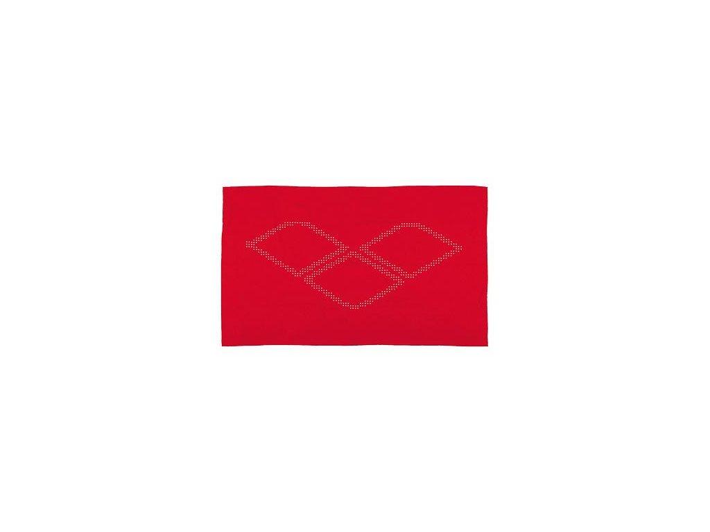 Osuška Halo červená