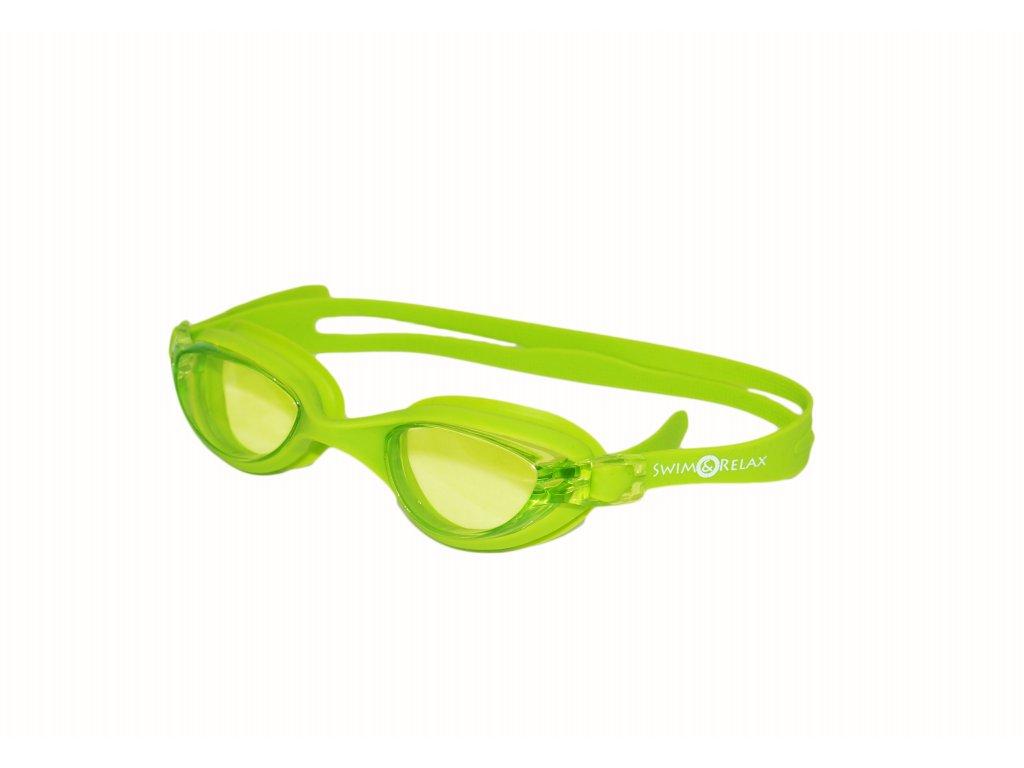 Plavecké brýle Amed zelená