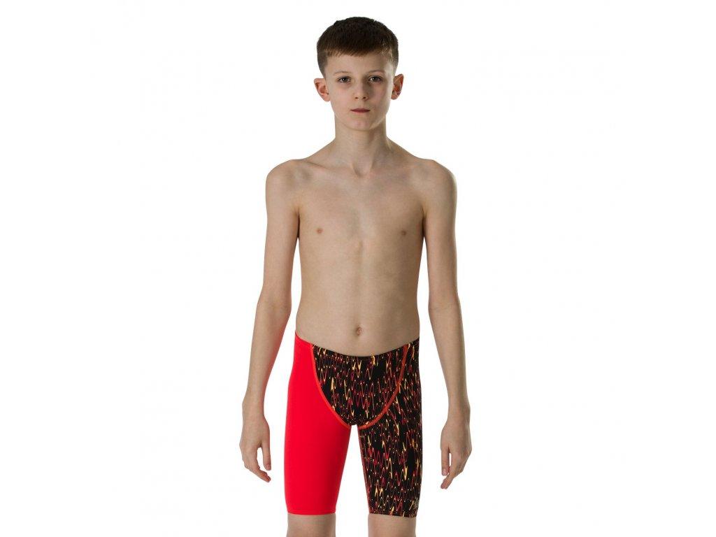 Plavky závodní chlapecké Speedo Fastskin Junior bok