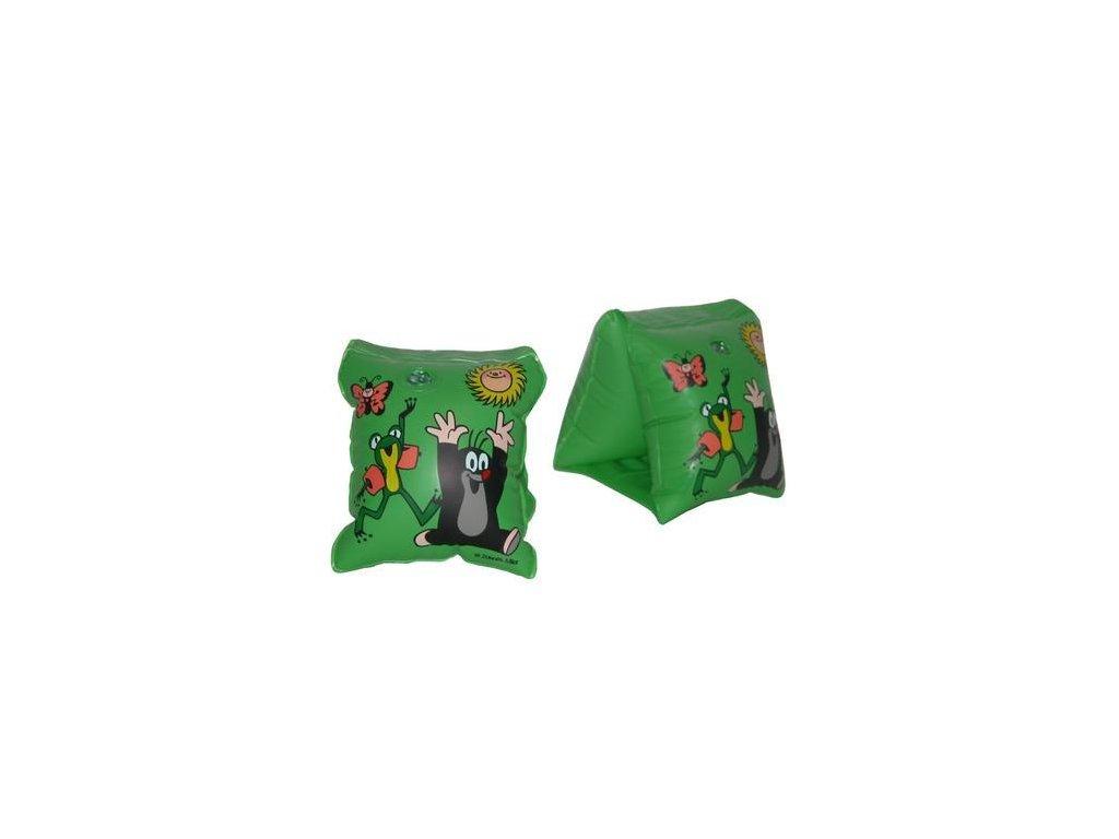 Rukávky Krtek zelené