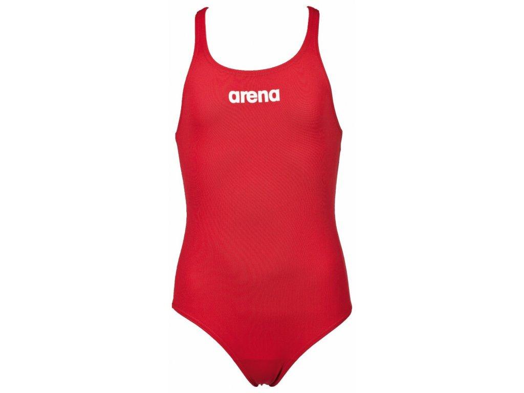 Arena G Solid Swim Pro Jr Plavky dívčí vcelku