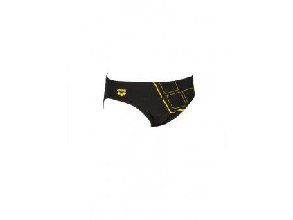 Essentials Brief černá;žlutáa