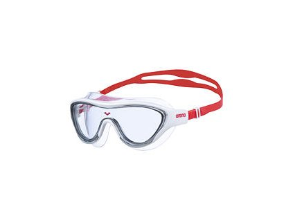 The One mask white clear red