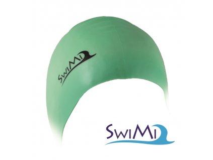 Plavecká čepice SwiMi Solid Color - zelená