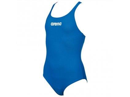 Arena G Solid Swim Pro Jr royal white Main 1024x1024