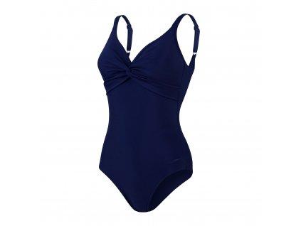 Speedo Brigitte 1PC AF Plavky dámské vcelku tmavě modrá