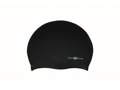Plavecká čepice SwiMi Solid Color - černá